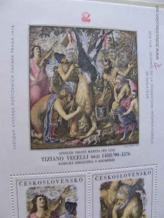 Sellos: Checoslovaquia. Lote de series completas y hojas bloque en archivador. - Foto 23 - 131596993