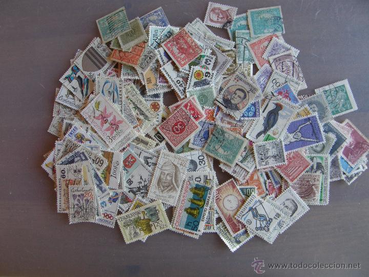 Sellos: Checoslovaquia. Lote de series completas y hojas bloque en archivador. - Foto 32 - 131596993