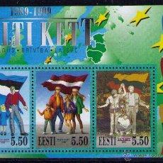 Francobolli: ESTONIA 1999 - VIA BALTICA - YVERT BLOCK Nº 12. Lote 53214408