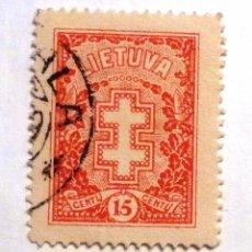 Sellos: SELLOS LITUANIA 1927. USADO.. Lote 53304110