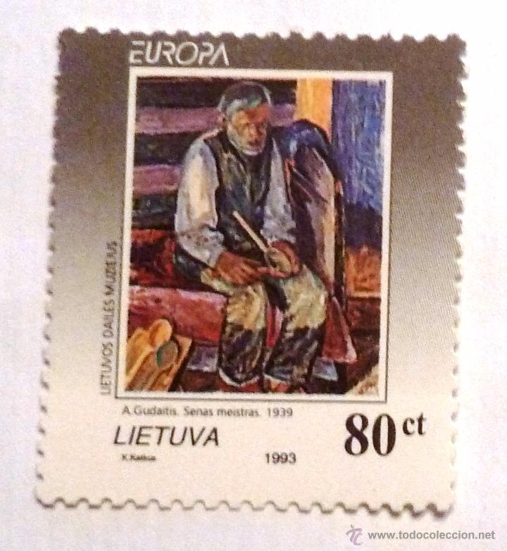 SELLOS LITUANIA 1993. NUEVO. EUROPA. (Sellos - Extranjero - Europa - Otros paises)
