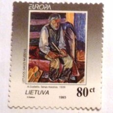 Sellos: SELLOS LITUANIA 1993. NUEVO. EUROPA.. Lote 53304270