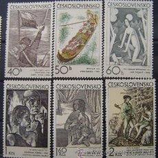 Sellos: CHECOSLOVAQUIA - IVERT Nº 1825/30 - SELLOS NUEVOS (**) PINTURAS DIVERSAS - - (G106). Lote 53473713