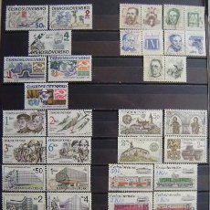 Sellos: CHECOSLOVAQUIA - LOTE DE 9 SERIES - SELLOS USADOS - VARIOS TEMAS - (G118). Lote 53491419