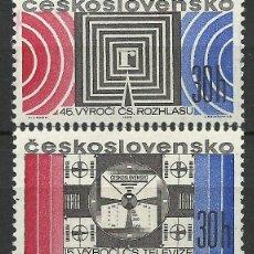 Sellos: CHECOSLOVAQUIA - 1968 - SCOTT 1529/1530 // MICHEL 1779/1780** MNH. Lote 156741774