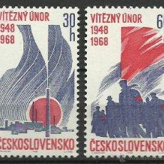 Selos: CHECOSLOVAQUIA - 1968 - SCOTT 1520/1521 // MICHEL 1770/1771** MNH. Lote 53604909