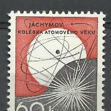 Sellos: CHECOSLOVAQUIA - 1966 - SCOTT 1413 // MICHEL 1645** MNH. Lote 222651836