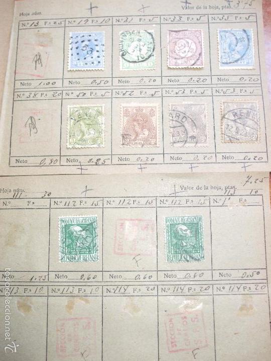 Sellos: .lote paises europa 274 sellos ordenados en libretas(7), diversas calidades, + fotos - Foto 2 - 55095488