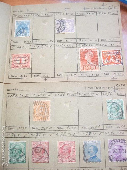 Sellos: .lote paises europa 274 sellos ordenados en libretas(7), diversas calidades, + fotos - Foto 3 - 55095488