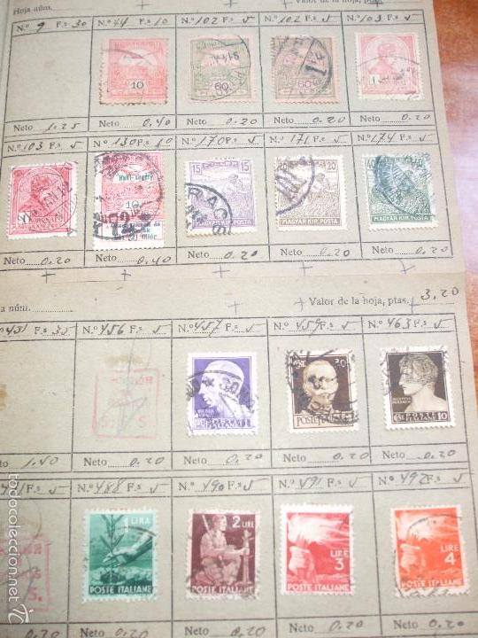 Sellos: .lote paises europa 274 sellos ordenados en libretas(7), diversas calidades, + fotos - Foto 5 - 55095488