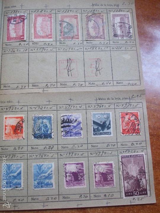 Sellos: .lote paises europa 274 sellos ordenados en libretas(7), diversas calidades, + fotos - Foto 6 - 55095488