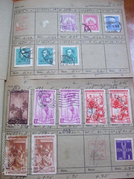 Sellos: .lote paises europa 274 sellos ordenados en libretas(7), diversas calidades, + fotos - Foto 7 - 55095488