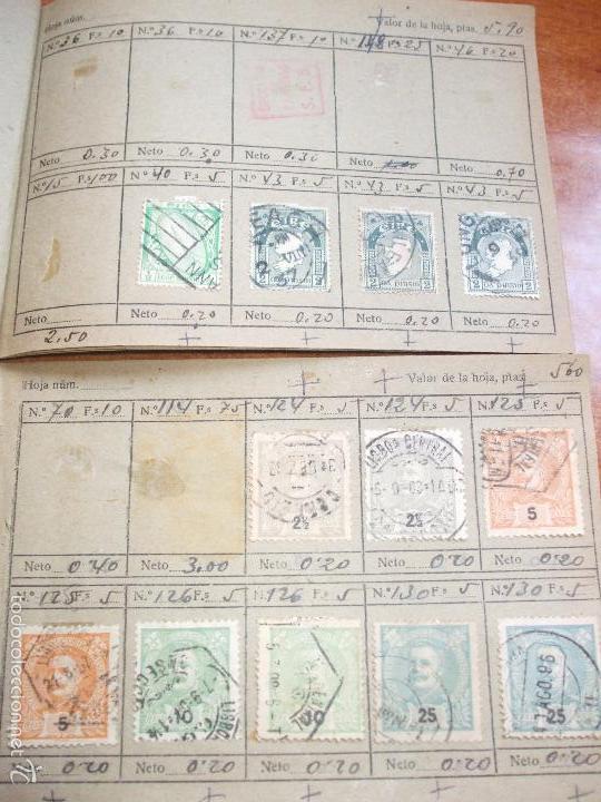 Sellos: .lote paises europa 274 sellos ordenados en libretas(7), diversas calidades, + fotos - Foto 8 - 55095488