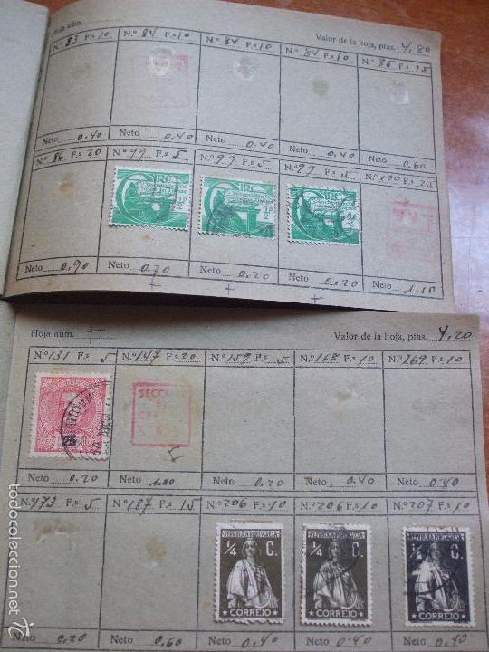 Sellos: .lote paises europa 274 sellos ordenados en libretas(7), diversas calidades, + fotos - Foto 9 - 55095488