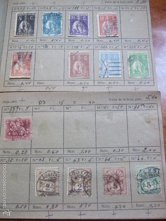 Sellos: .lote paises europa 274 sellos ordenados en libretas(7), diversas calidades, + fotos - Foto 10 - 55095488