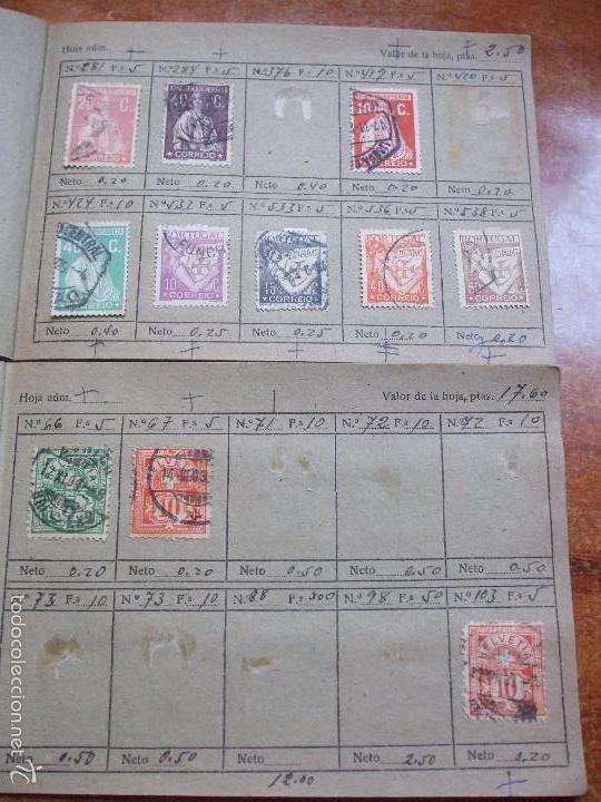 Sellos: .lote paises europa 274 sellos ordenados en libretas(7), diversas calidades, + fotos - Foto 11 - 55095488