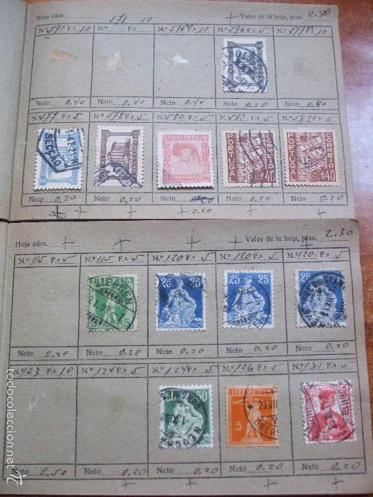 Sellos: .lote paises europa 274 sellos ordenados en libretas(7), diversas calidades, + fotos - Foto 12 - 55095488