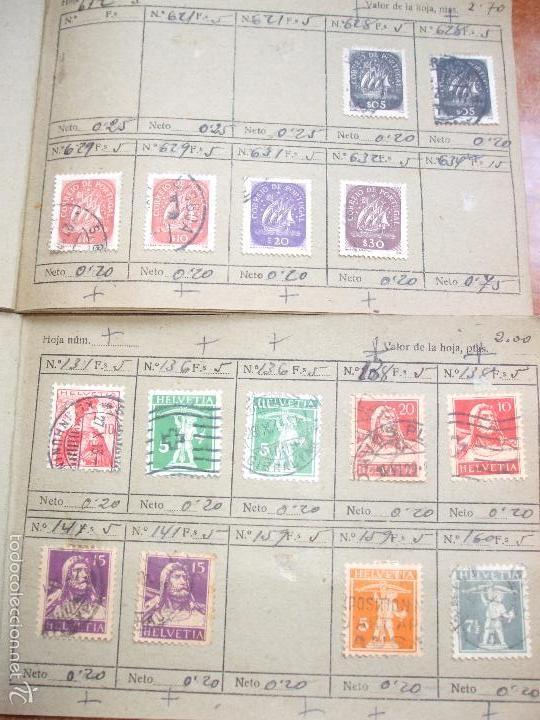 Sellos: .lote paises europa 274 sellos ordenados en libretas(7), diversas calidades, + fotos - Foto 13 - 55095488