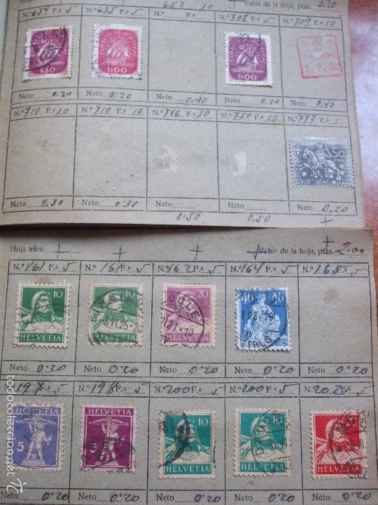 Sellos: .lote paises europa 274 sellos ordenados en libretas(7), diversas calidades, + fotos - Foto 14 - 55095488