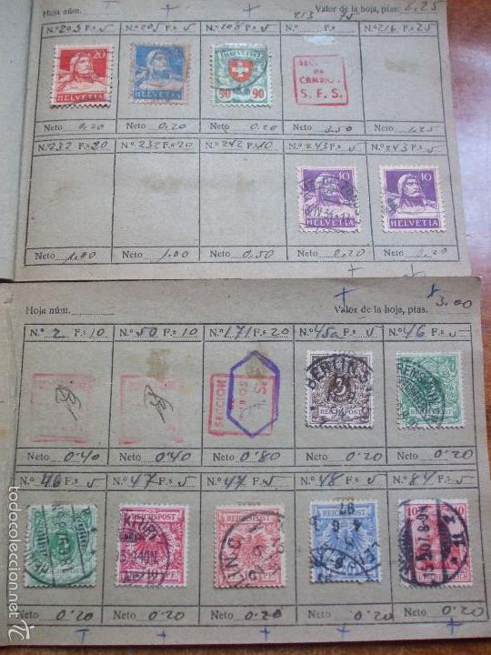 Sellos: .lote paises europa 274 sellos ordenados en libretas(7), diversas calidades, + fotos - Foto 15 - 55095488