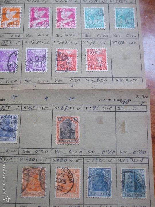 Sellos: .lote paises europa 274 sellos ordenados en libretas(7), diversas calidades, + fotos - Foto 16 - 55095488