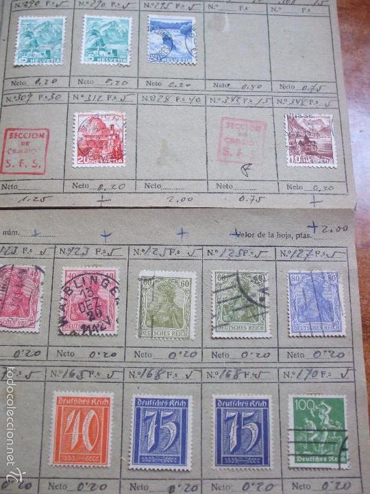 Sellos: .lote paises europa 274 sellos ordenados en libretas(7), diversas calidades, + fotos - Foto 17 - 55095488
