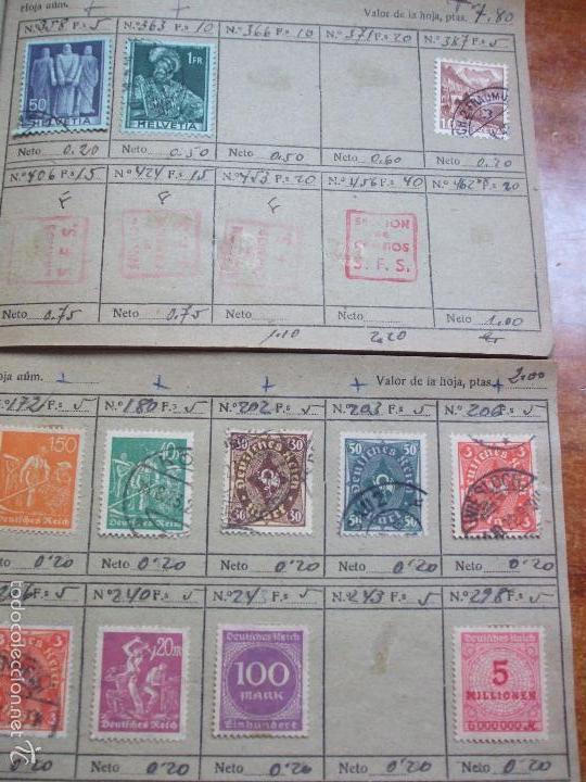 Sellos: .lote paises europa 274 sellos ordenados en libretas(7), diversas calidades, + fotos - Foto 18 - 55095488
