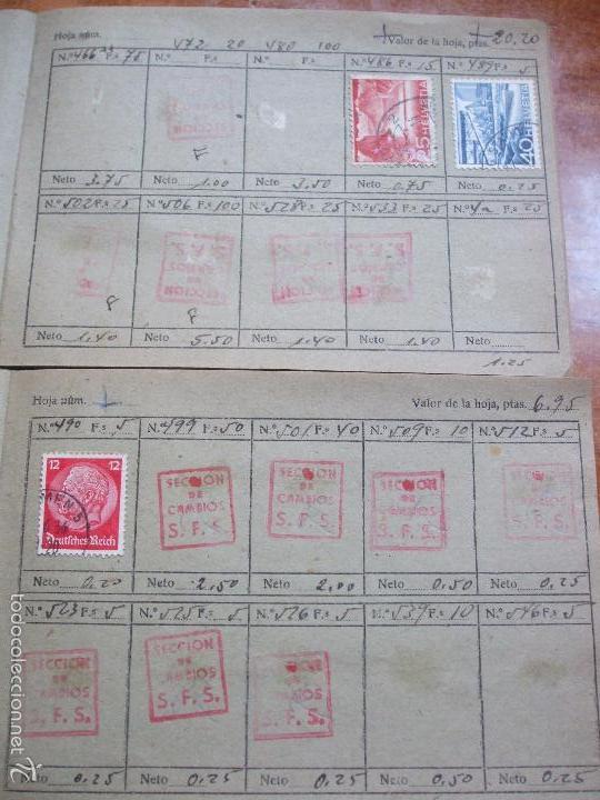 Sellos: .lote paises europa 274 sellos ordenados en libretas(7), diversas calidades, + fotos - Foto 19 - 55095488