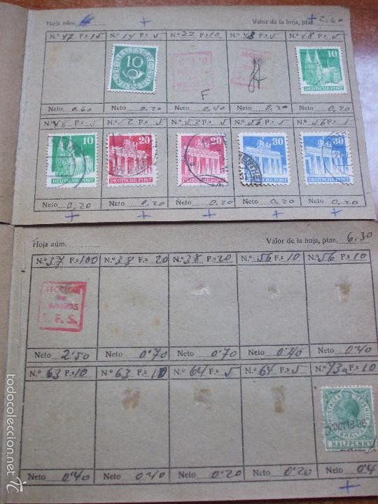 Sellos: .lote paises europa 274 sellos ordenados en libretas(7), diversas calidades, + fotos - Foto 20 - 55095488