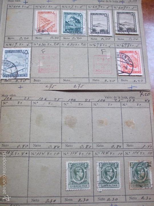 Sellos: .lote paises europa 274 sellos ordenados en libretas(7), diversas calidades, + fotos - Foto 22 - 55095488