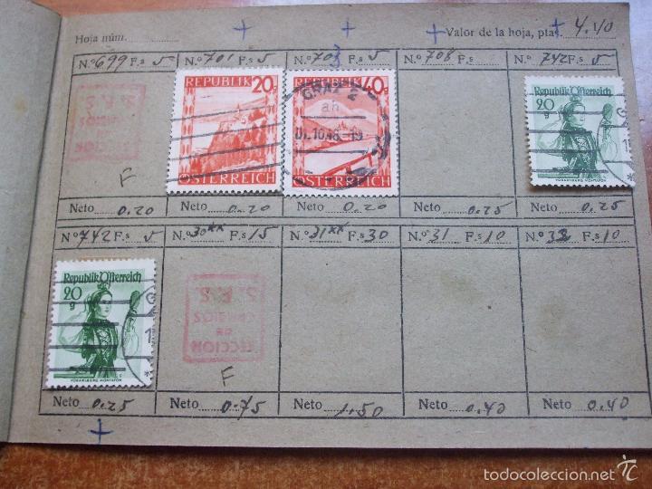 Sellos: .lote paises europa 274 sellos ordenados en libretas(7), diversas calidades, + fotos - Foto 23 - 55095488