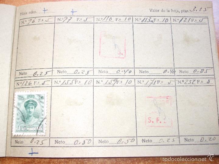Sellos: .lote paises europa 274 sellos ordenados en libretas(7), diversas calidades, + fotos - Foto 25 - 55095488