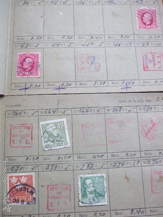 Sellos: .lote paises europa 257 sellos ordenados en libretas(6), diversas calidades, + fotos - Foto 3 - 55096361