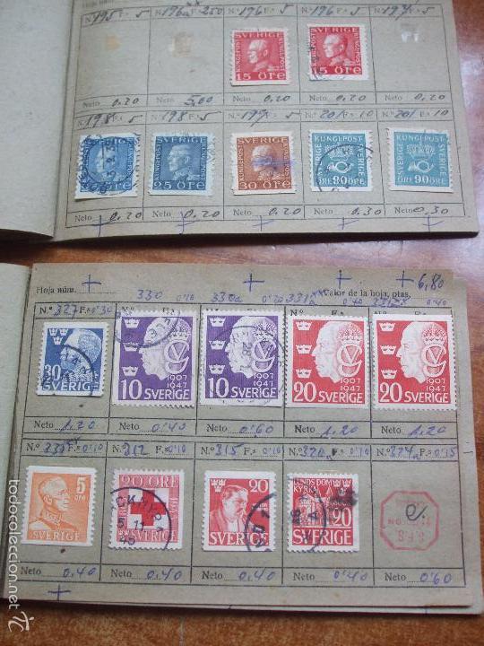 Sellos: .lote paises europa 257 sellos ordenados en libretas(6), diversas calidades, + fotos - Foto 8 - 55096361