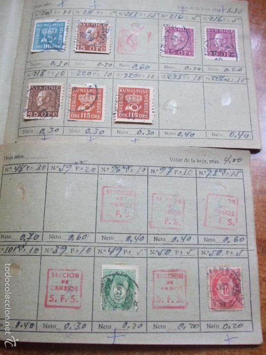 Sellos: .lote paises europa 257 sellos ordenados en libretas(6), diversas calidades, + fotos - Foto 9 - 55096361