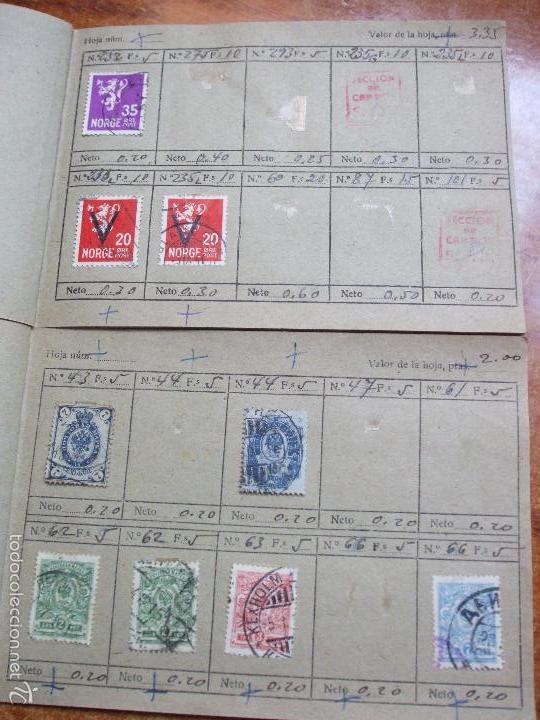 Sellos: .lote paises europa 257 sellos ordenados en libretas(6), diversas calidades, + fotos - Foto 12 - 55096361