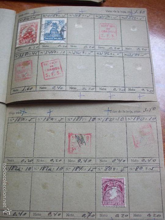 Sellos: .lote paises europa 257 sellos ordenados en libretas(6), diversas calidades, + fotos - Foto 15 - 55096361