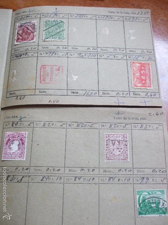 Sellos: .lote paises europa 257 sellos ordenados en libretas(6), diversas calidades, + fotos - Foto 16 - 55096361