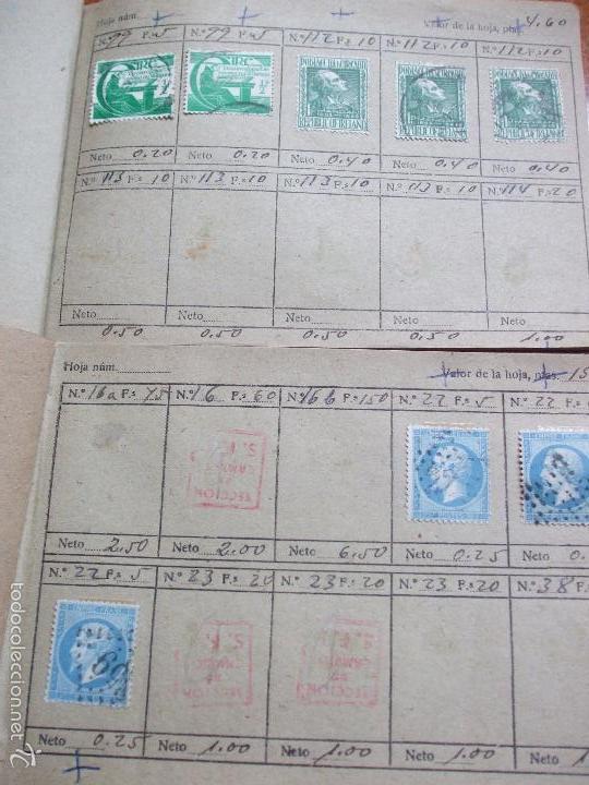 Sellos: .lote paises europa 257 sellos ordenados en libretas(6), diversas calidades, + fotos - Foto 17 - 55096361