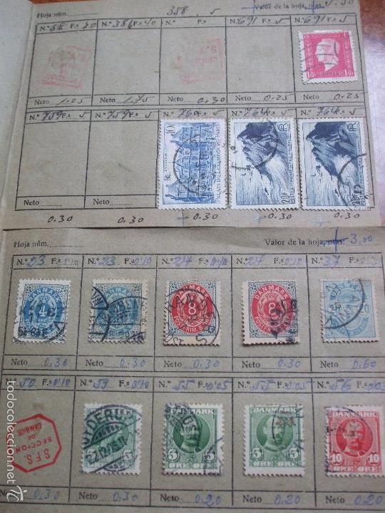 Sellos: .lote paises europa 257 sellos ordenados en libretas(6), diversas calidades, + fotos - Foto 18 - 55096361