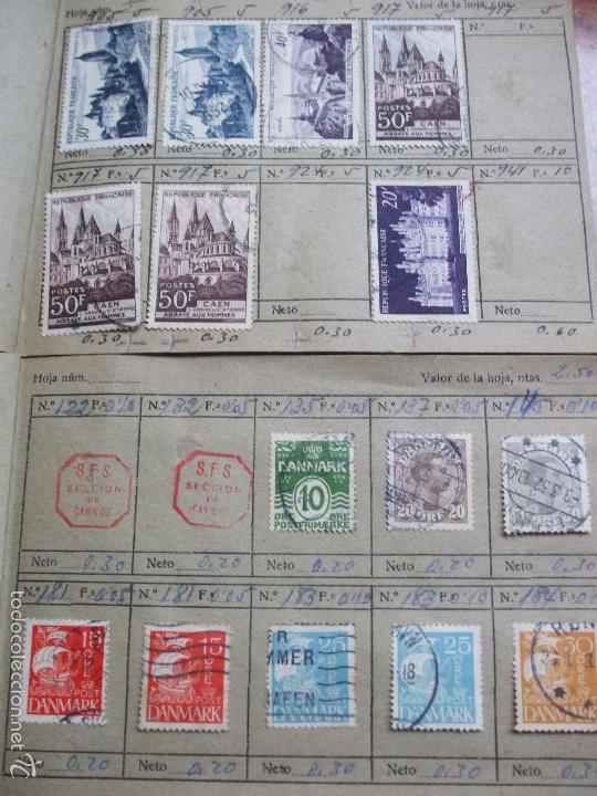 Sellos: .lote paises europa 257 sellos ordenados en libretas(6), diversas calidades, + fotos - Foto 20 - 55096361