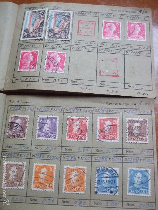 Sellos: .lote paises europa 257 sellos ordenados en libretas(6), diversas calidades, + fotos - Foto 23 - 55096361