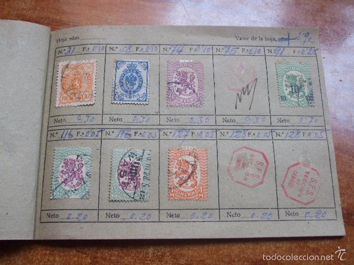 Sellos: .lote paises europa 257 sellos ordenados en libretas(6), diversas calidades, + fotos - Foto 25 - 55096361