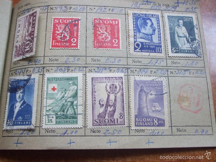Sellos: .lote paises europa 257 sellos ordenados en libretas(6), diversas calidades, + fotos - Foto 27 - 55096361