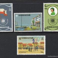 Sellos: GIBRALTAR 467/70** - AÑO 1983 - DIA DE LA COMMONWEALTH. Lote 56112735