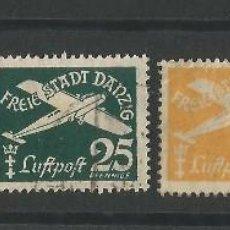 Sellos: DANZIG 1938-39 CORREO AEREO. Lote 56465252
