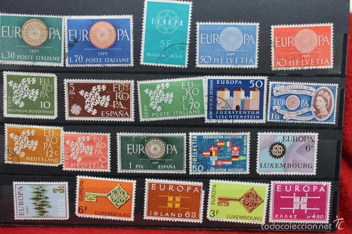 Sellos: LOTE 20 SELLOS, EUROPA VARIOS PAISES USADOS,AÑOS 60-70 - Foto 2 - 56485060