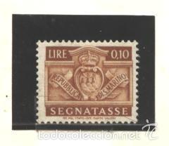 SAN MARINO 1945 - YVERT NRO. 64 TAXE - NUEVO (Sellos - Extranjero - Europa - Otros paises)