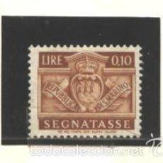 Sellos: SAN MARINO 1945 - YVERT NRO. 64 TAXE - NUEVO. Lote 56507664