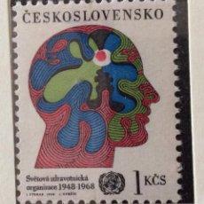 Sellos: SELLOS CHECOSLOVAQUIA 1968. Lote 57120687